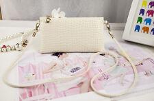 Lady Messenger Bag PU Leather Crossbody Satchel Tote Clutch Shoulder Handbag H