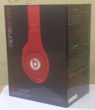 Beats by Dr. Dre Studio Over Head Headphones - Red , HD Isolation Headphones