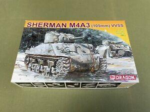 MODEL KIT - DRAGON 1:72 SHERMAN M4A3 Amored Vehicle