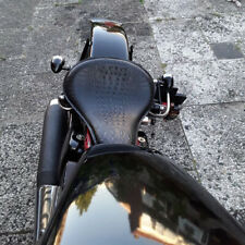 Motorcycle Alligator Large Solo Seat for Harley Softail Springer Chopper Bobber