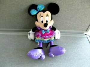 """Disney💖Minnie Mouse-12"""" Plush-Disney Parks--Lot S9"""