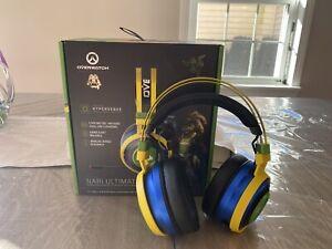 Razer Nari Ultimate Overwatch Lúcio Edition Wireless Gaming Headset - Multicolor