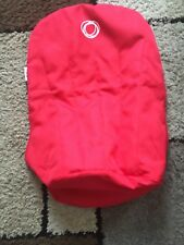 BUGABOO CAMELEON/CHAMELEON TAILORED CANVASS FABRIC SEAT LINER IN RED VERY GOOD