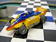 Afx,Aurora,Tomy,Tyco Ho Scale , Tyco 440X2 Kraco Indy Racer, Runner Quailty Body