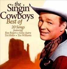 THE BEST OF THE SINGING COWBOYS -  CD - BRAND NEW