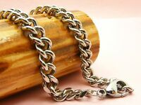 ~Custom Made~ STAINLESS STEEL Various Style CURB Chain NECKLACE  ~46cm to 80cm~