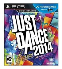 JUST DANCE 2014 PS3 MOVE NEW! KATY PERRY, PITBULL, JUSTIN BIEBER, RIHANNA, MINAJ