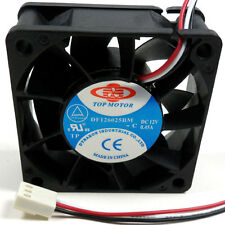 Top Motor DF126025BM 60mm x 25mm 12v medium speed Cpu cooling fan 7000rpm 3 pin