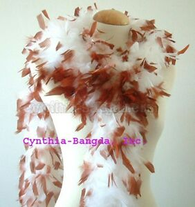 65 Gram Chandelle Feather Boa with tips or with tinsel 30+ patterns to pick up