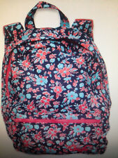 NWT Hollister Backpack Bag Tote Navy Floral