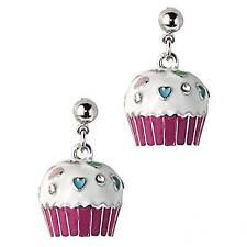 """Park Lane """"CUPCAKE"""" EARRINGS w/ Swarovski Crystals -  Orig $49 - Too Cute!!"""