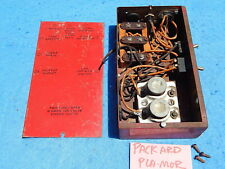 1946 Packard Plamor Cabinet Lighting Junction Box with cover