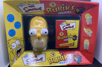 Homer Simpson Rubik's Puzzle With Solutionbook  Brand New In Box. Rare In The Uk