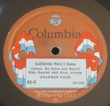 Shannon Four - California Here I Come / Linger Awhile - Columbia 86-D