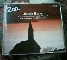 "Joseph Haydn – 2 CDs Symphony No. 99 & 101 ""Clock"" – Symphony No. 94 ""Surprise"""