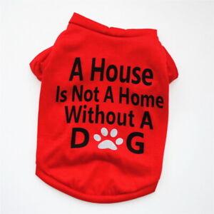 Pet Clothes Shirt Puppy Small Dog Cat Pet Clothes Vest T Shirt Apparel Clothes