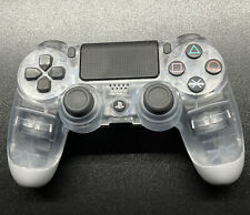 Sony Dualshock 4 Wireless Controller for PS4 - Clear Crystal - Genuine - Clean