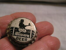 UNUSED OLD TAVERN BOTTLE CAP FROM WARSAW BREWERY, WARSAW,IL
