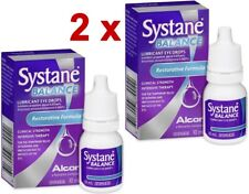 2 x Systane Balance Lubricant Eye Drops 10ml FREE SHIPPING