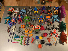 Vintage masters of the universe motu he man lot weapons figures heman