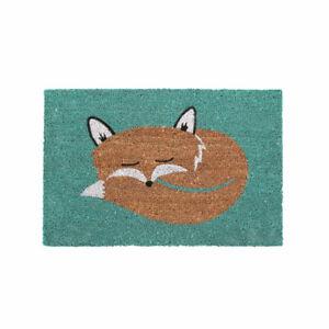 HEAVY DUTY 60 X 40CM NON SLIP FOX COIR DOORMAT FRONT BACK ENTRANCE FLOOR MAT NEW