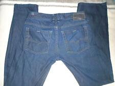 Designer Diesel Industry Zathan Denim Jeans Size 29W x L32 Dark Wash Blue