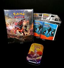 Pokemon Card Game Mewtwo Sealed Tin Album Collectable Booster Pack 2019