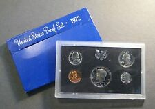 1972  U.S. MINT PROOF COIN SET - * Free Shipping Deal ! * (S689)