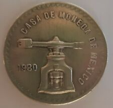 MONEDA UNA ONZA TROY DE PLATA MÉXICO 1980