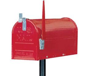 Cassetta postale posta porta lettere ALUBOX USA mail topolino rosso con palo