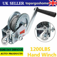 Hand Winch with Hand Brake Brand New 625kg 7976A