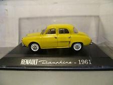 RENAULT DAUPHINE JAUNE de 1961 ~  NEUF