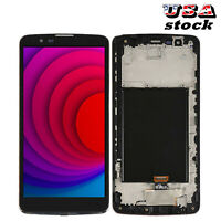 Fit For LG Stylo 2 Plus T-MOBILE LGK550 LGMS550 LG-MS550 LCD Touch Screen+Frame