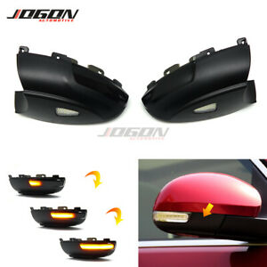 LED Dynamic Turn Signal Light Side Mirror Indicator For VW Tiguan MK1 2008-2016