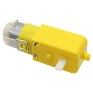 GW130 DC3-6V 20-250r/min Micro Plastic Gearbox Reducer Motor For Smart Car Robot