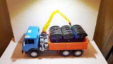 CCCP USSR Russia Russian Hudge KAMAZ Garbage Truck plastic 49x20x22 cm nice cond