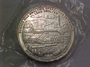 618c) Bunker Hill Silver - Lead Smelter - .9995 Fine Silver - Starts at $40.00