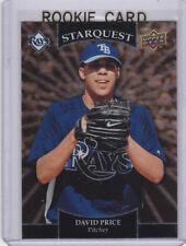 David Price ROOKIE CARD Starquest GOLD VERSION INSERT RC Baseball Tampa Bay Rays