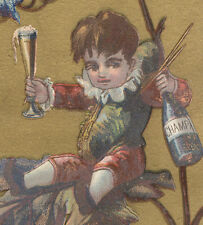 WEBSTER MASS TRADE CARD, L M CHILD, MUSICAL INS., SEWING MACH, PIANOS ETC   C931
