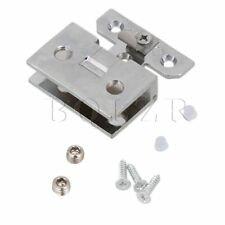 Wall-mount Stainless Steel Shower Door Clamp Glass Hinge Clamps Clip For 5-8mm