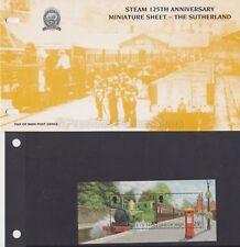 Isle of Man Presentation Pack 1998 Steam 125th Anniv Stamp Sheet 10% off 5+