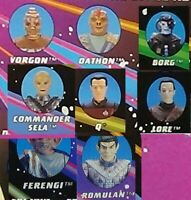 Loose Figures, Bases & Accessories 1993 ENEMIES Star Trek Next Generat Playmates