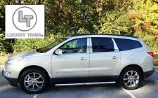 Chevy Traverse Stainless Steel Pillar Posts by Luxury Trims 2009-2017 (6pcs)