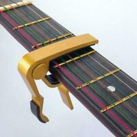 Guitar Capo Acoustic Clip Guitar String Instrument Accessories Clamp Guitar U2C7