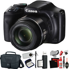Canon PowerShot SX540 HS Digital Camera (Intl Model) +Extra Accessory Bundle