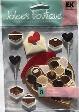 """Jolee/'s Boutique /""""Love Letters/"""" Valentine Seal With A Kiss Dimensional Stickers"""