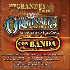 Los Originales de San Juan Sus Grandes Exitos Con Banda CD New Nuevo Sealed