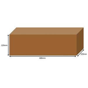 "Packaging - 2ft 60cm long cardboard box single wall 606x229x229mm 24"" x  9"" x 9"""