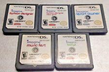 Imagine Music Fest Fashion Babyz Resort - Nintendo 2DS DS Lite 3DS - 5 Game Lot