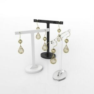 Jewellery Display Stand / Tall Acrylic Display Stand / Earrings Holder / Studs